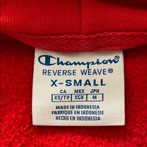 Champion Other - Red champion hoodie